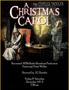 """""""A Christmas Carol"""" Radio Show"""