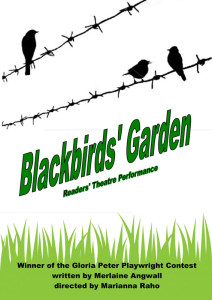 Blackbirds' Garden poster