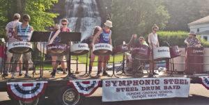 Steel Drum Band from Dundee High School @ Village of Aurora Park