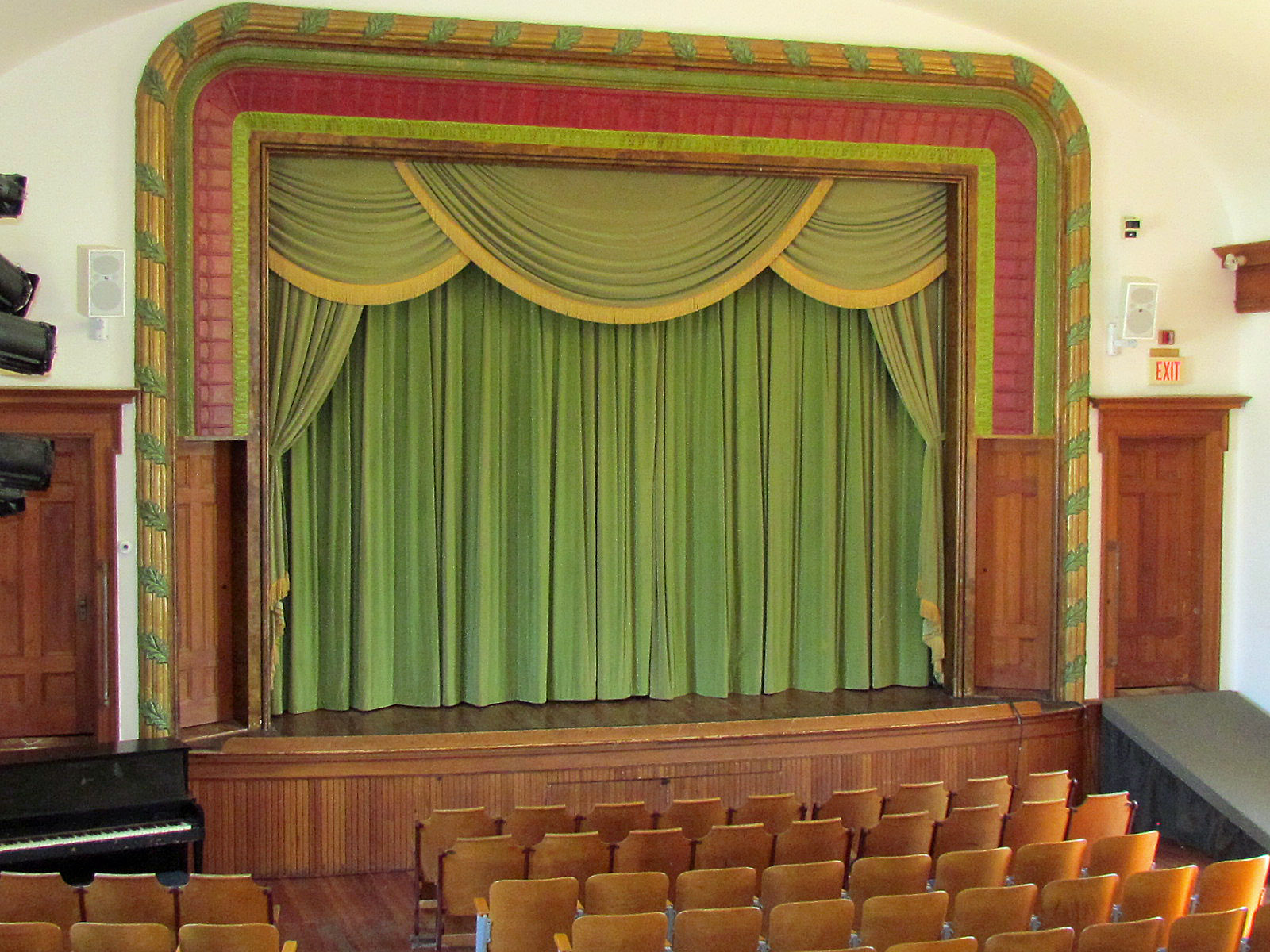 Stage with seats